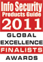 Endpoint Protector 어플라이언스, 2011 Global Product Excellence Finalists Awards 수상